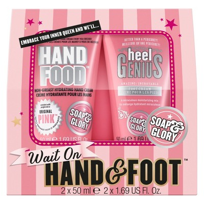 Soap & Glory Wait On Hand & Foot Gift Set - 2pc