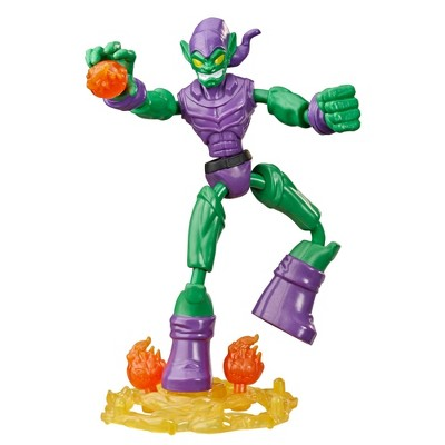 Marvel Spider-Man Bend and Flex Green Goblin Action Figure