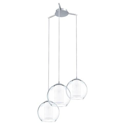 """Bolsano Multi Light Pendant Ceiling Light 21.25"""" Chrome - Eglo - image 1 of 1"""