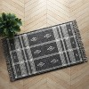 "2'3""x3'9"" Southwest Plaid Accent Rug Gray - Project 62™ - image 2 of 4"
