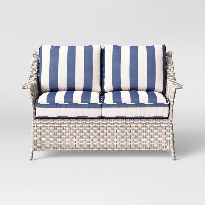 Pleasing Bar Harbor Patio Loveseat Threshold Alphanode Cool Chair Designs And Ideas Alphanodeonline