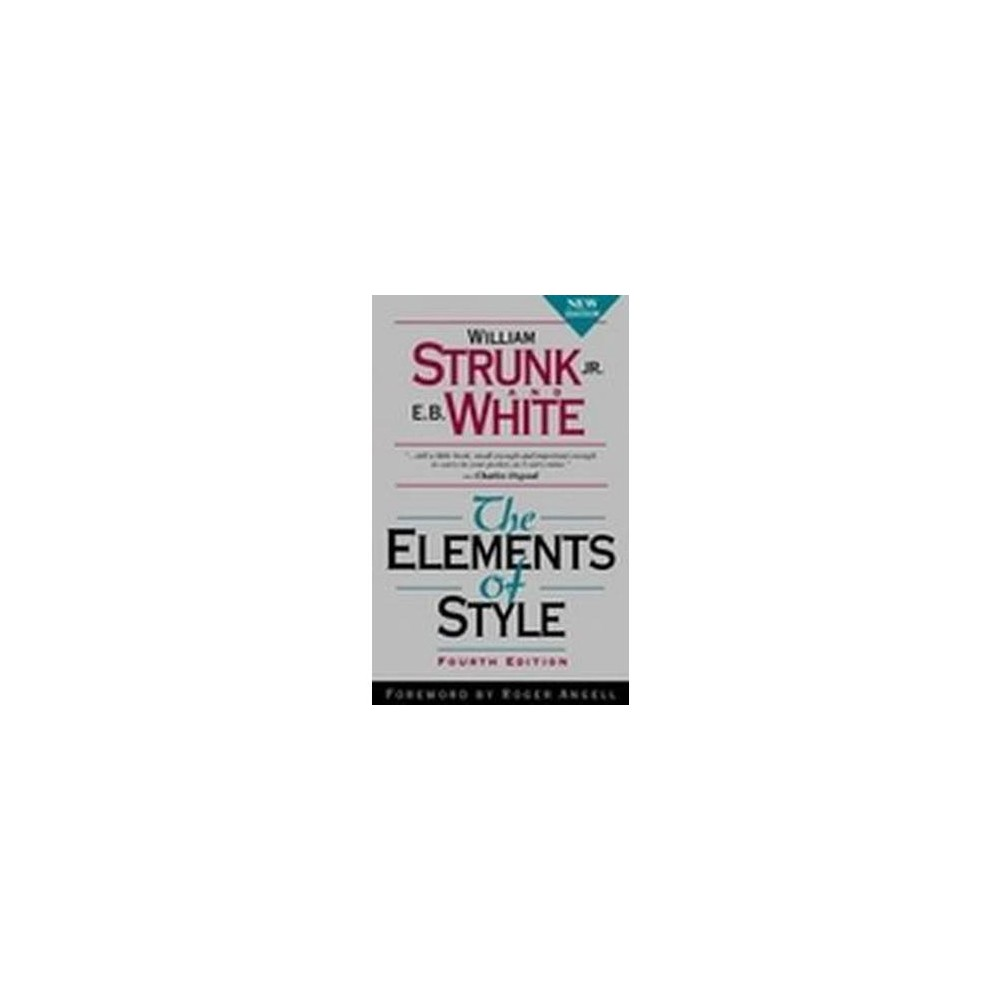 Elements of Style (Subsequent) (Paperback) (William Strunk)