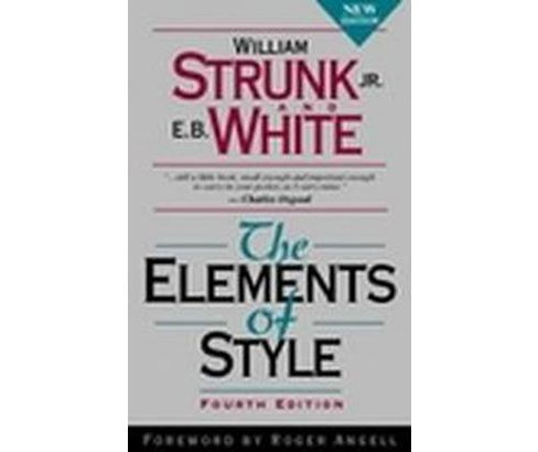 Elements of Style (Subsequent) (Paperback) (William Strunk) - image 1 of 1