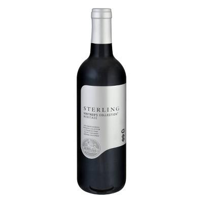 Sterling Vintner's Collection Meritage Red Blend Wine - 750ml Bottle