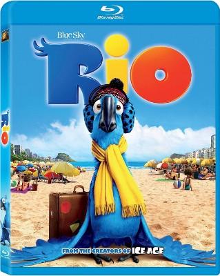 Rio (Blu-ray + DVD + Digital)