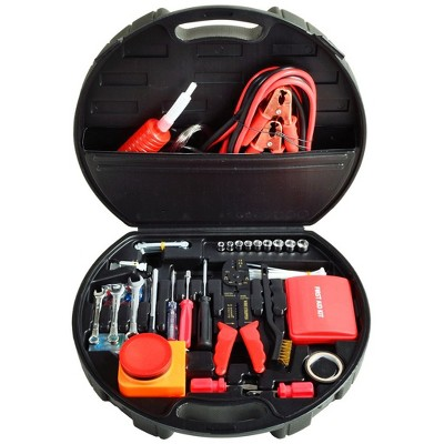 Picnic at Ascot Auto Roadside Emergency Tool Kit - 133 Pieces