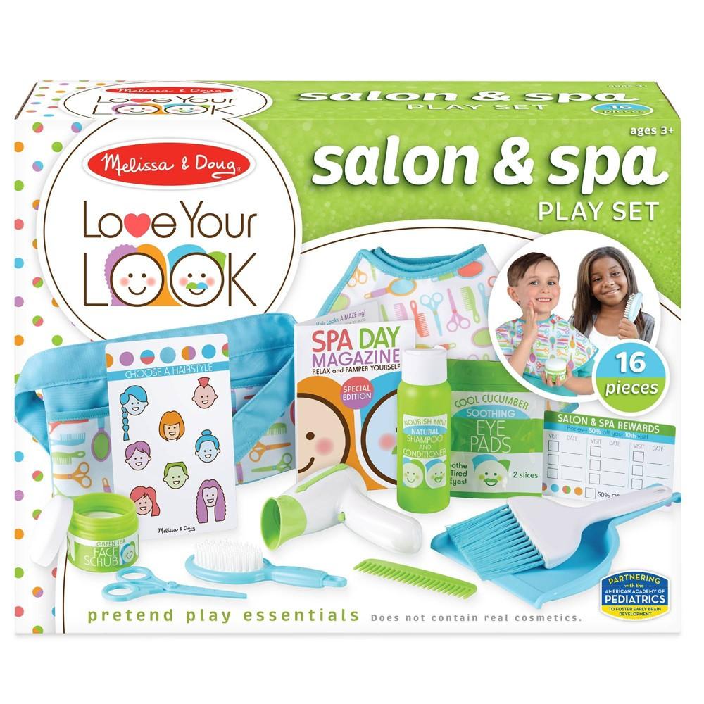 Melissa 38 Doug Love Your Look Salon 38 Spa Play Set