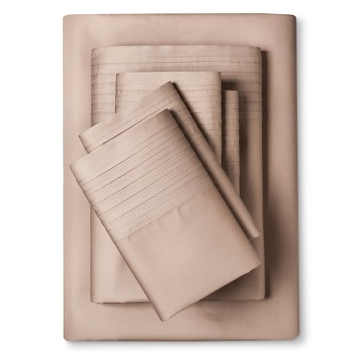 Lancaster 1000 Thread Count Sheet Set (Queen)Khaki - Elite Home