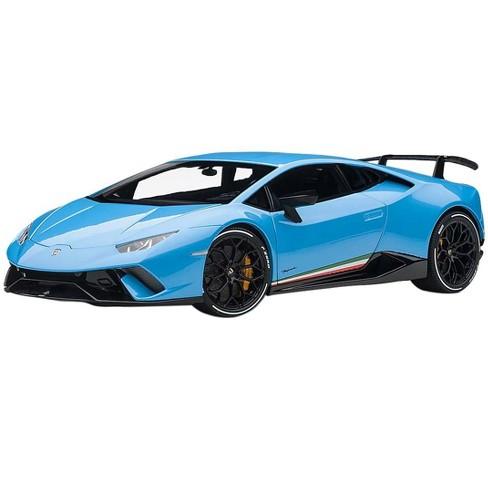 Lamborghini Huracan Performante Pearl Blue With Black Wheels 1 18