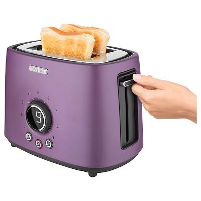 Sencor Metallic 2 Slice Toaster - Violet