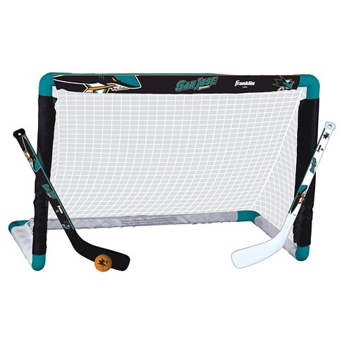 NHL Franklin Sports San Jose Sharks Mini Hockey Set - image 1 of 1