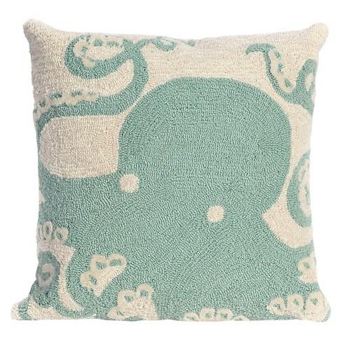 Octopus Throw Indoor/Outdoor Throw Pillow - Liora Manne - image 1 of 1