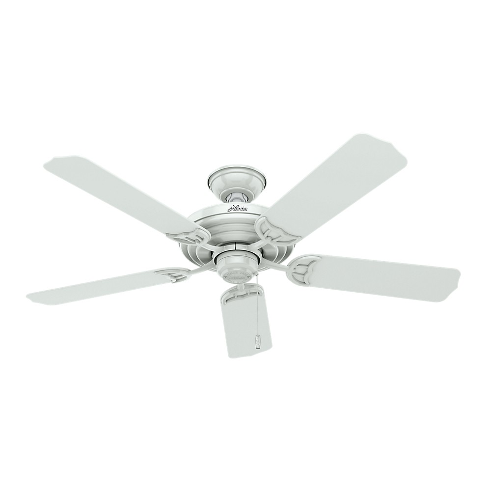 52 Sea Air White Ceiling Fan - Hunter Fan