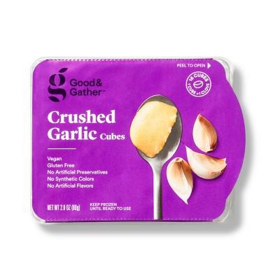 Frozen Crushed Garlic Cubes - 2.8oz - Good & Gather™