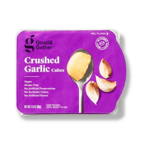Frozen Crushed Garlic Cubes - 2.8oz - Good & Gather™ - image 1 of 2
