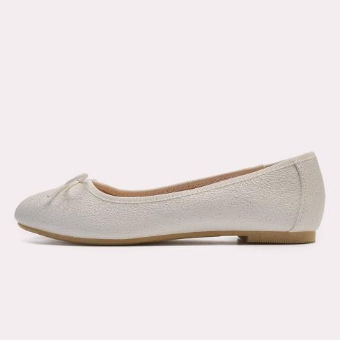 824f936694a Girls  Stacy Ballet Flats - Cat   Jack™ White   Target