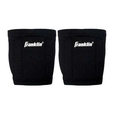 Franklin Sports 6pc Contour Volleyball Knee Pads - Black