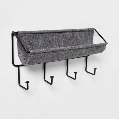 Small Felt Organizer with Decorative Hooks - Project 62™