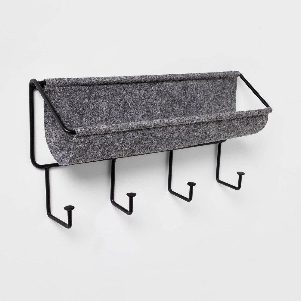 Small Felt Organizer with Decorative Hooks - Project 62 was $22.0 now $12.0 (45.0% off)