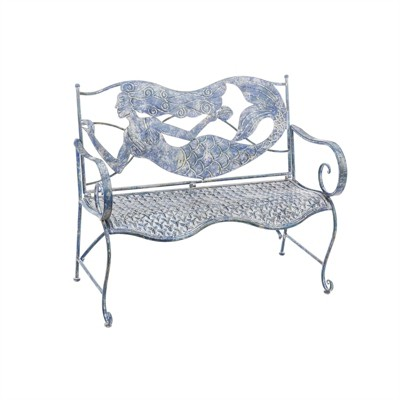 Cape Craftsmen Mermaid Metal Bench