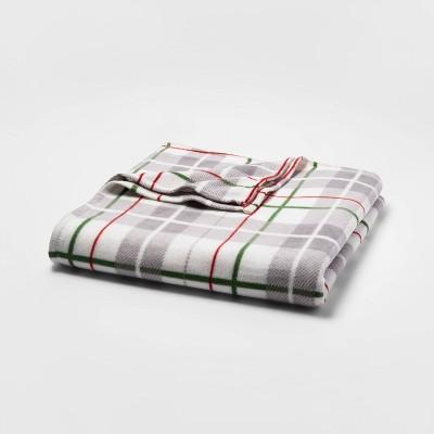 Full/Queen Holiday Fleece Bed Blanket - Wondershop™
