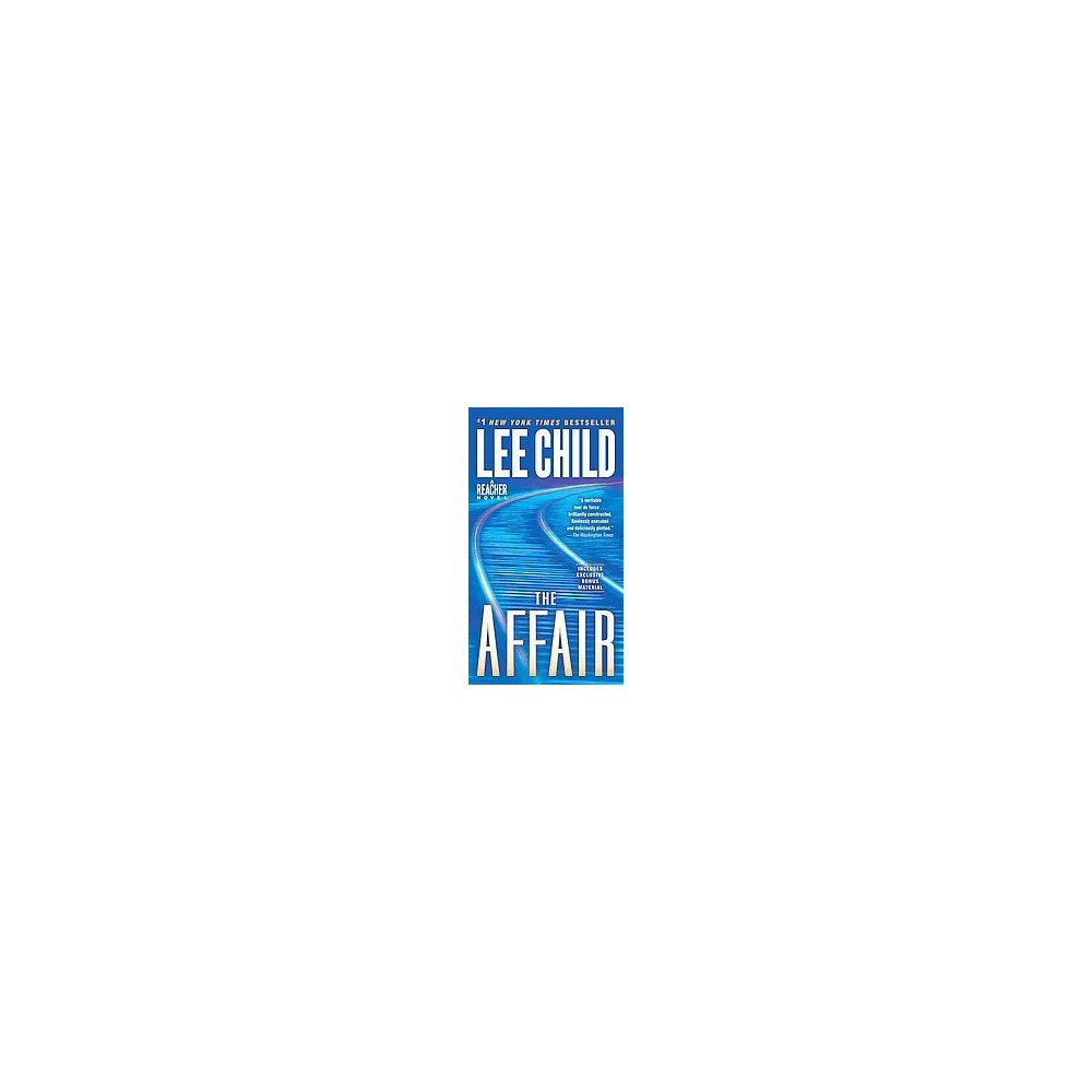 The Affair Reprint By Lee Child Paperback