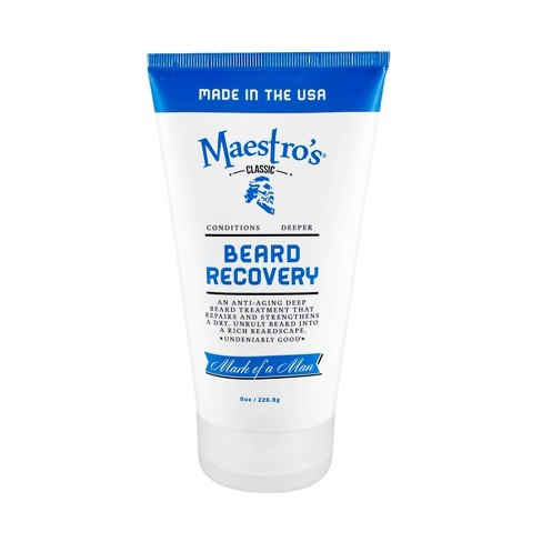 Maestro's Classic Mark of a Man Blend Beard Recovery – 8oz - image 1 of 4