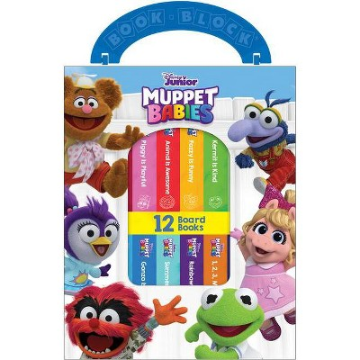Disney Junior Muppet Babies - (Board Book)