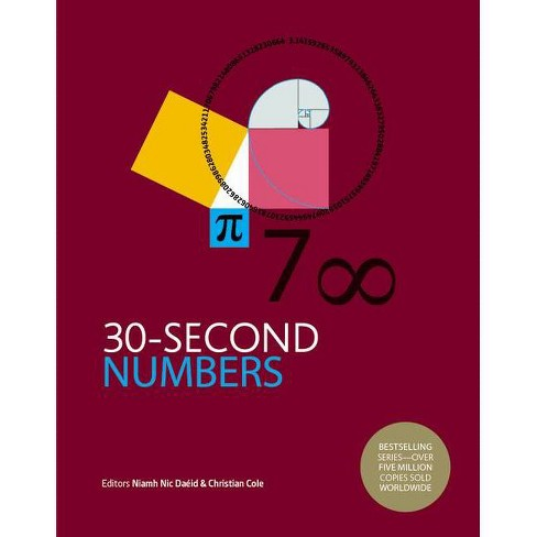 30-Second Numbers - (30 Second) by  Niamh Nic Daeid & Christian Cole (Hardcover) - image 1 of 1
