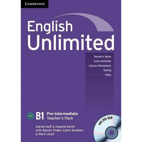 English Unlimited Pre-Intermediate Teacher's Pack (Teacher's Book with DVD-Rom) - (Mixed media product) - image 1 of 1