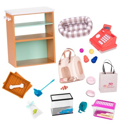 """Our Generation Pet Store Accessory Set for 18"""" Dolls"""
