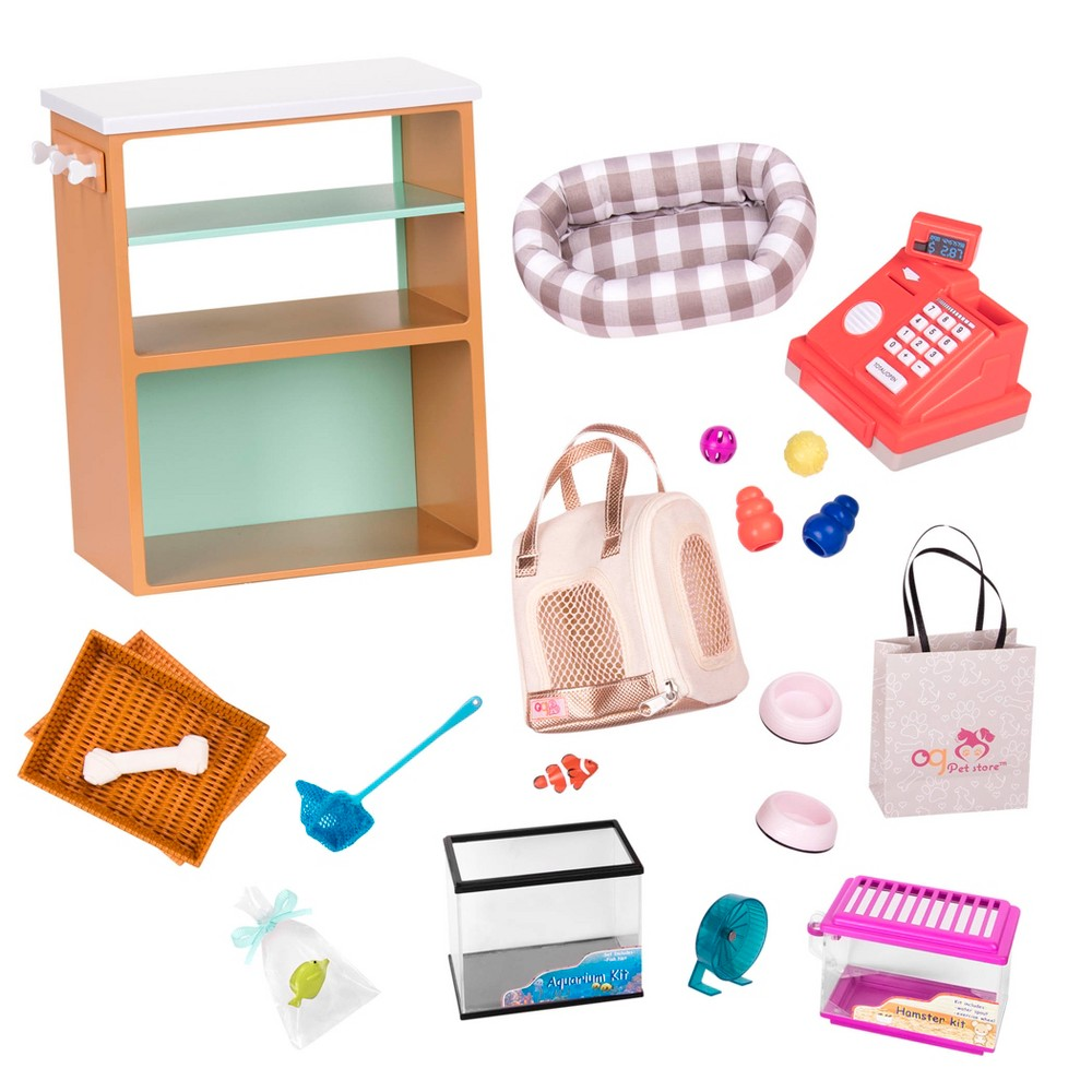 Our Generation Deluxe Pet Store Set for 18 Dolls