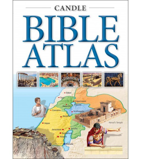 Candle Bible Atlas -  by Tim Dowley (Paperback) - image 1 of 1