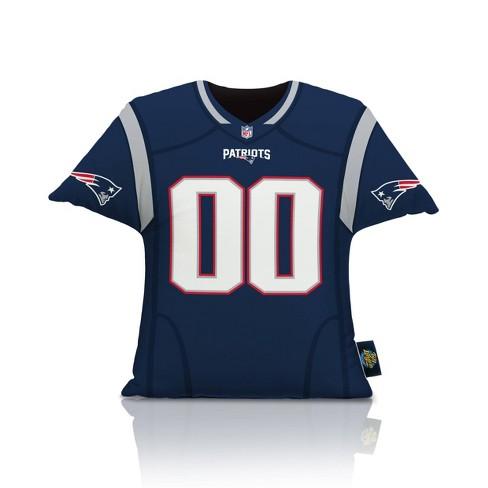 NFL New England Patriots Big League Jersey Pillow