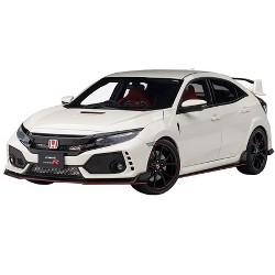 Honda Civic Type R (FK8) Championship White 1/18 Model Car by Autoart