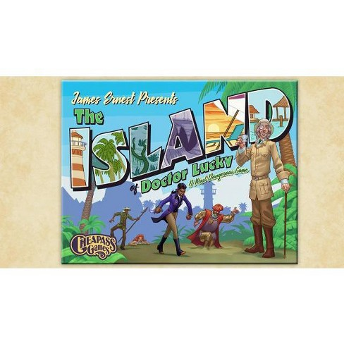 Island of Dr  Lucky, The Board Game
