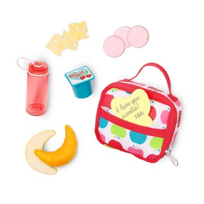 """Our Generation Lunch Box Set for 18"""" Dolls - Let's Do Lunch"""
