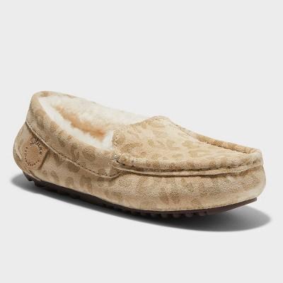 Kids' dluxe by dearfoams Jasper Genuine Shearling Moccasin Slippers