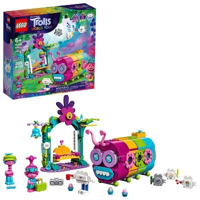 LEGO Trolls World Tour Rainbow Caterbus Caterpillar Bus Building Set 41256