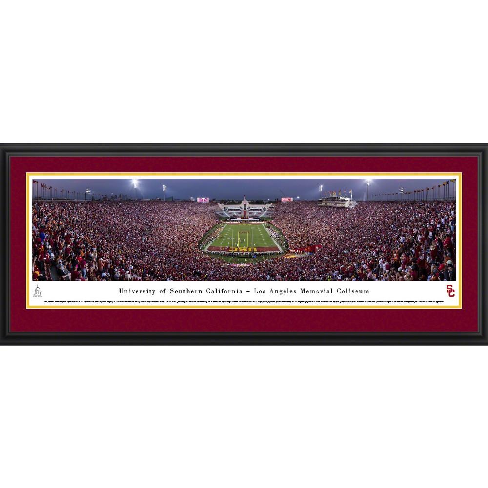 Ncaausc Trojans BlakewayFootball Stadium View Framed Wall Art, Usc Trojans