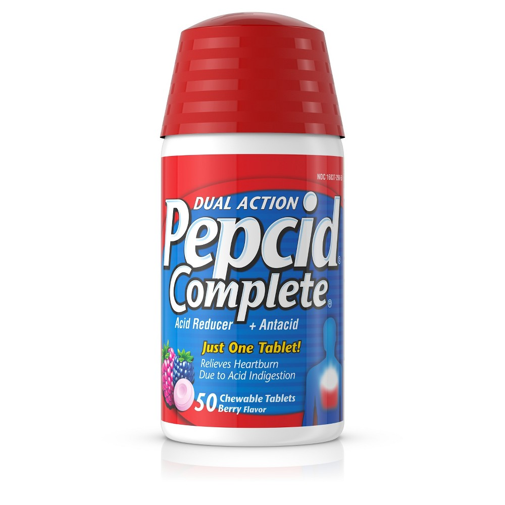 Pepcid Complete Berry Tablets 50ct