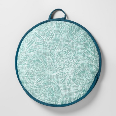 "Tortilla Warmer 12"" Green/Blue Floral - Opalhouse™ - image 1 of 2"