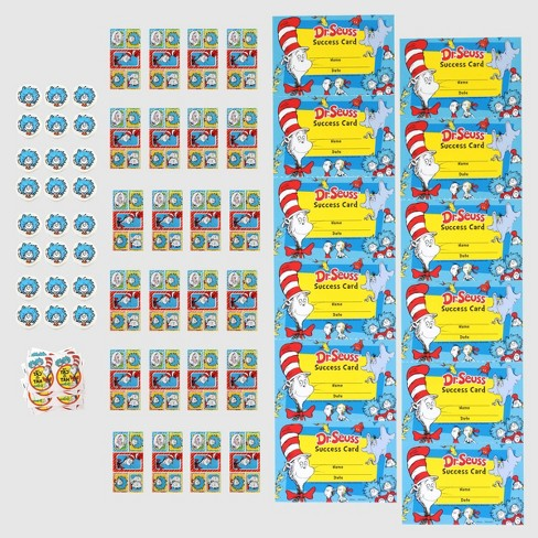 Dr. Seuss 72ct Classroom Rewards - image 1 of 1