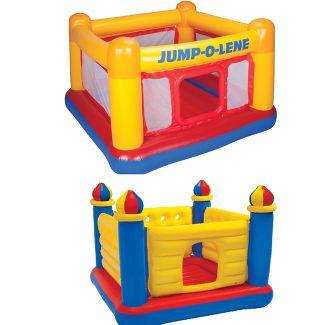 Intex Inflatable Jump O Lene Bounce House & Colorful Jump O Lene Castle Bounce