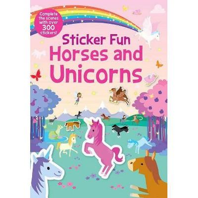 Sticker Fun Horses and Unicorns -  (Sticker Fun) (Paperback)