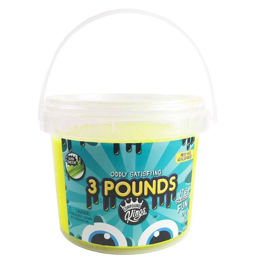 Compound Kings 3lb Slime Bucket Yellow image number null