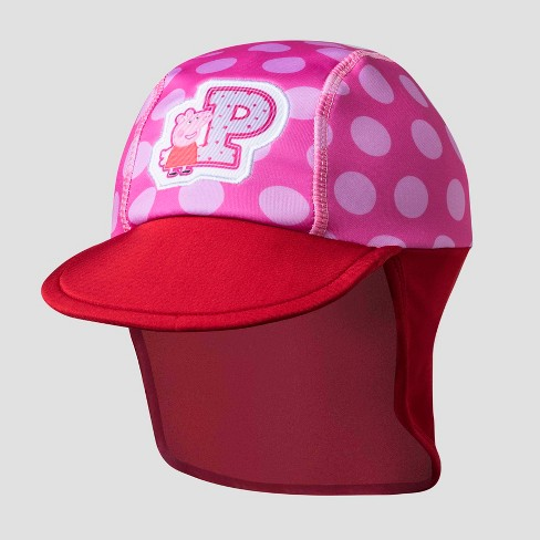 f19e632afd3 Toddler Girls  Peppa Pig Safari Sun Hat - Pink Red One Size   Target