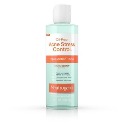 Facial Toner & Astringent: Neutrogena Oil-Free Acne Stress Control Toner