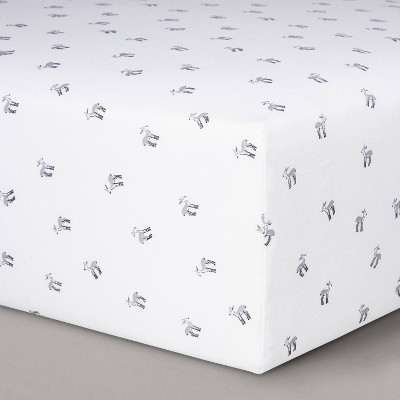 Fitted Crib Sheet Deer - Cloud Island™