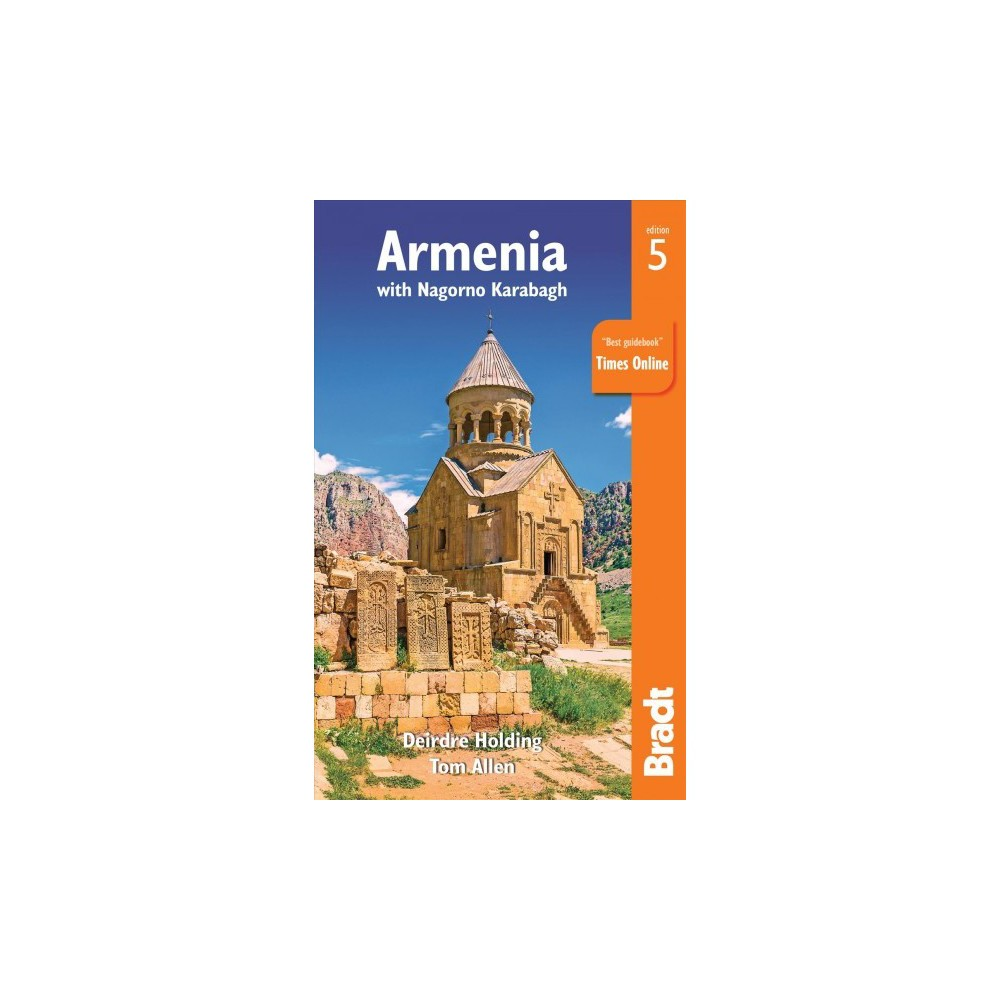 Bradt Armenia : With Nagorno Karabagh - 5 by Deirdre Holding & Tom Allen (Paperback)